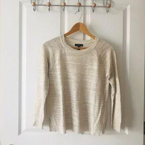 J Crew Linen Summer Sweater